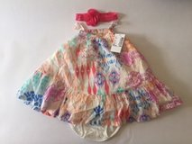 New with Tags Children's Place Girl's 3-6 Months Dress w Bloomers and Headband in Hinesville, Georgia