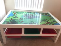 Kids train table with toy holding cubbies in Camp Pendleton, California