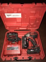 "Milwaukee 1/4"" Impact Driver with Charger, 3-18Volt Batteries and Case in Tomball, Texas"