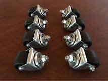 "Merrick 2"" Heavy Duty Casters (8) New in The Woodlands, Texas"