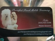 mobile pet groomer in Edwards AFB, California