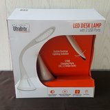 Funky LED Desk Lamp with USB Ports in Spring, Texas