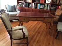Desk, Real wood with dovetail construction, 3 drawers in Naperville, Illinois
