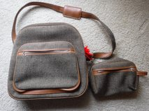 Tweed /Tan Shoulder Travel Bag & Toiletries Bag by Byer Intermark Exclusive in Bolingbrook, Illinois