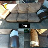 Used Brown Couch in Hinesville, Georgia