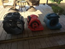 Commercial grade blowers & fan in The Woodlands, Texas