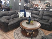 BRAND NEW PEWTER RECLINING SECTIONAL in Fort Campbell, Kentucky