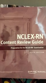 Kaplan NCLEX-RN Content Review Guide 2017 in Travis AFB, California