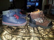 2 Pairs of size 4 infant boots in Fort Polk, Louisiana
