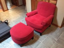 Chair and ottoman in Chicago, Illinois