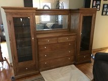 Oak Buffet and China Cabinet in Chicago, Illinois