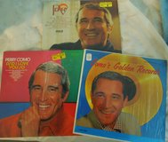 COLLETORS PERRY COMO LPs- 3 vinyl lp set- Perry, Golden Records, And I Love You in Joliet, Illinois