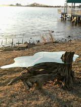 Driftwood Coffee Table in Lake Charles, Louisiana