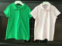 Girls Golf / Polo Shirts from Lands End Size M (10-12) in Glendale Heights, Illinois