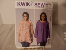 Brand New Kwik Sew Pattern #K4074 Women's Tops1x-4x in Plainfield, Illinois