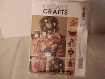 Brand New McCalls Pattern #M4990 Fat Quarters Stocking-Pillow-Garland-Ornaments in Joliet, Illinois