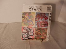 Brand New Pattern McCalls Craft #4486 Fat Quarters Runner-Placemats-Napkins in Plainfield, Illinois