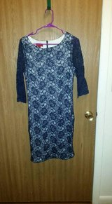 Misses navy blue lace dress in Watertown, New York
