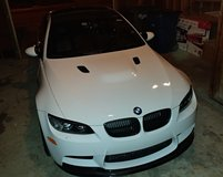 2011 BWM M3 (e92) Alpine White w/ Competition Package & fully loaded. USAA Extended warranty in DeRidder, Louisiana