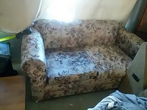 small couch with wheels in Yucca Valley, California