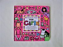 Treasure Hunt for Girls Book - New - Ages 2+ in Joliet, Illinois