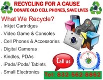 Recycling Old Cell Phones for a Cause in Kingwood, Texas