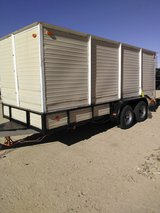Trailer tandem axle New tires,title, permanent plate in 29 Palms, California