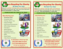 Community Recycling For A Cause in Houston, Texas