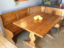 Authentic ! Country Nook Table / Bench sectional in Yucca Valley, California