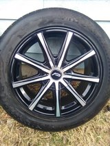 PACER wheels and Hercules tires...like new! in Fort Leonard Wood, Missouri