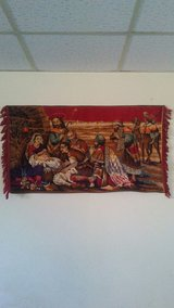 christain tapestry in Yucca Valley, California