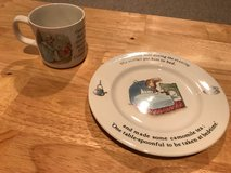 Wedgewood Peter Rabbit Cup and Plate Set in Naperville, Illinois