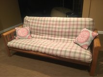 Good Condition Wood Futon-Full Size in Elizabeth City, North Carolina