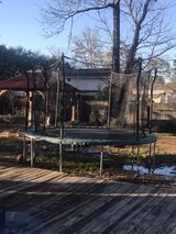 trampoline with net in New Orleans, Louisiana