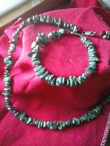 Beautiful Necklace and matching bracelet,    turquoise stones in Fort Polk, Louisiana