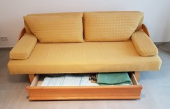 Sleeper Sofa - Yellow fabric in Heidelberg, GE