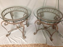 Glass top tables in Beaufort, South Carolina