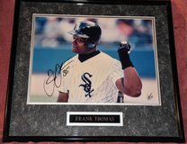 Signed Frank Thomas photo in Sandwich, Illinois