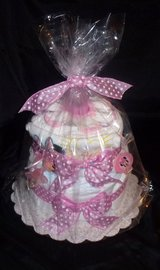 Minnie Mouse Diaper Cake - $30.00 in Kingwood, Texas