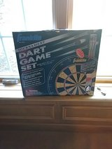 DART BOARD GAME SET...NEW IN BOX in Naperville, Illinois