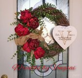 Valentine's Day Spring Wreath in Fort Hood, Texas