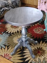 Antique oak pedestal table in Camp Lejeune, North Carolina