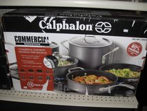 Calphalon 13 piece commercial cookware set in Cherry Point, North Carolina