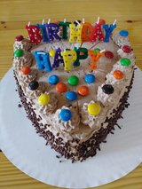 Birthday chocolate cake for Kids in Hinesville, Georgia