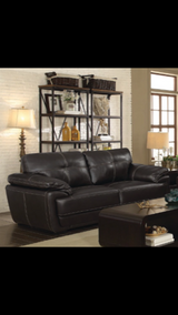 SALE!! URBAN LEATHER COMFY /EASY TO CLEAN SOFA in Vista, California