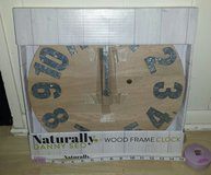 New! Naturally Danny Seo Wood Frame Clock in Bolingbrook, Illinois