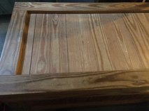 Wood chest in Fort Knox, Kentucky