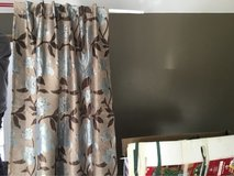 Drapes 54 x 85 Brown Taupe Blue in Clarksville, Tennessee