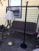 Floor lamps $12 each in Fort Riley, Kansas
