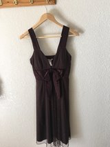 Brown size 5 dress in Travis AFB, California
